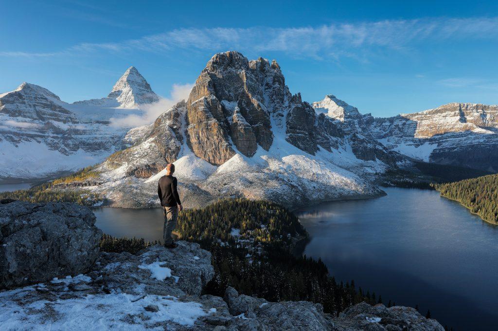 Mount Assiniboine Peter Nestler Standing