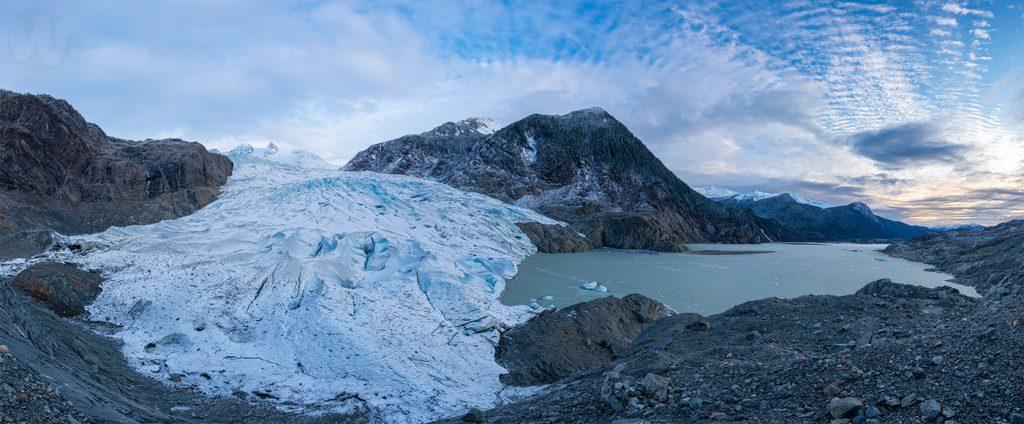 Mendenhall Glacier Hike Viewpoint Pano